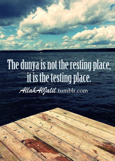 The testing place...