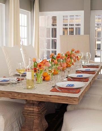Summer Dinner Party Table Settings Pinterest