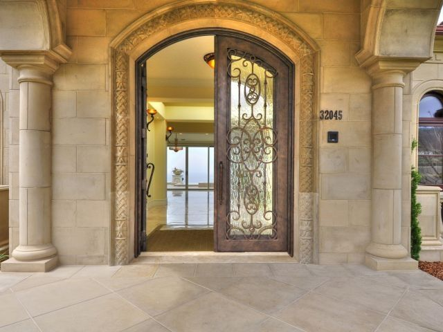Luxury Mansion Front Door Doorway Beautiful Homes amp Estates Pinte