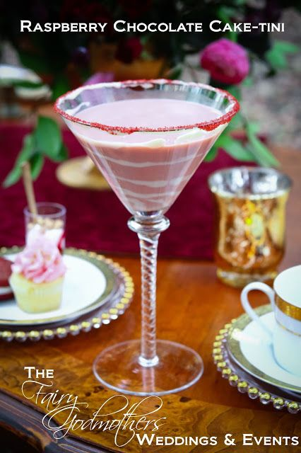 ... & Events: Fabulous FG Friday Cocktail: Raspberry Chocolate Cake-tini