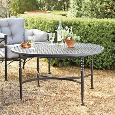 Outdoor Table European Inspired Home Furnishings Ballard Designs