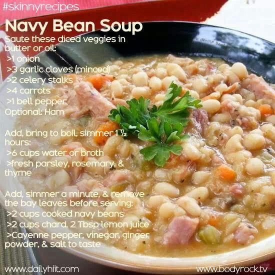 Navy Bean Soup | Food | Pinterest