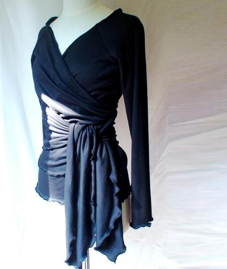 with ruffled hem custom made organic womens clothing $ 88 00 via etsy