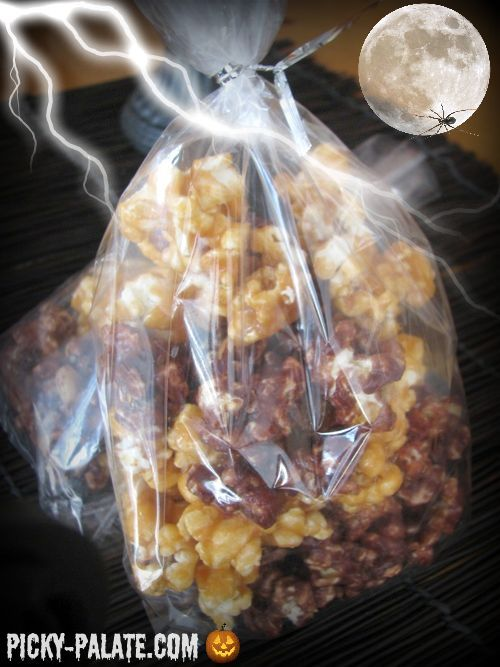 Pumpkin Spice and Chocolate Caramel Corn… | Picky Palate