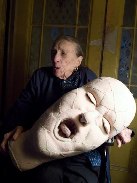 louise bourgeois. - YES.
