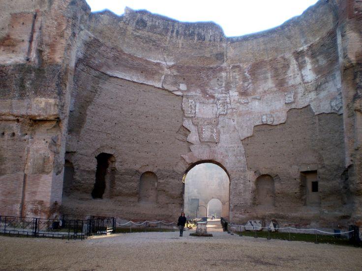 Rome - Baths of Caracalla 6 | Rome, Italy | Pinterest