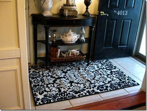 Foyer rug ideas home decor pinterest for Foyer rugs decorating