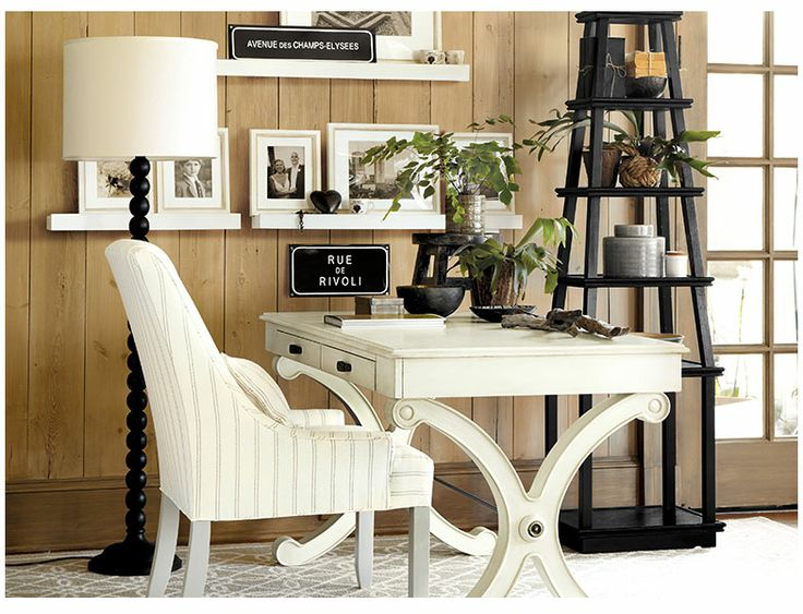 Ballard Designs  Pierre Home Office  Decor & Design  Pinterest