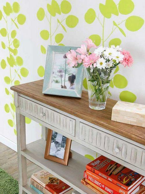 Dekoration Im Flur :  für eine frische Dekoration im Flur  grelles Grün