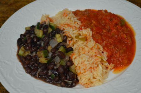 Black Beans And Rice Chili Recipe — Dishmaps