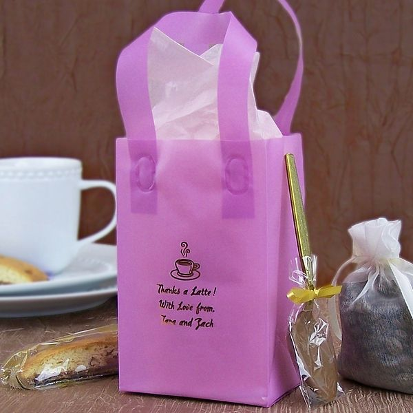 Giving a small gift or favor to your wedding guests? Use custom ...