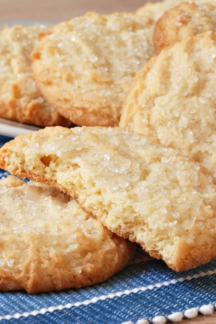 Chewy Sugar Cookies | Cookies~Plain & Simple | Pinterest