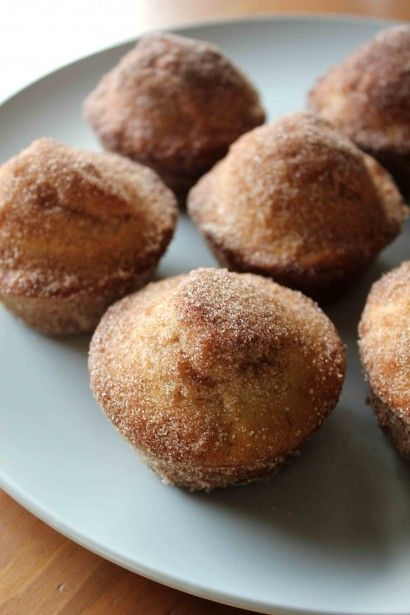 Doughnut Muffins: These were great. Next time I will half the recipe ...