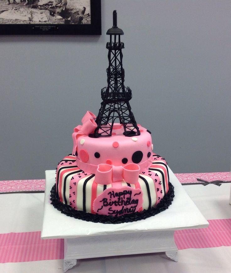 paris theme cakes