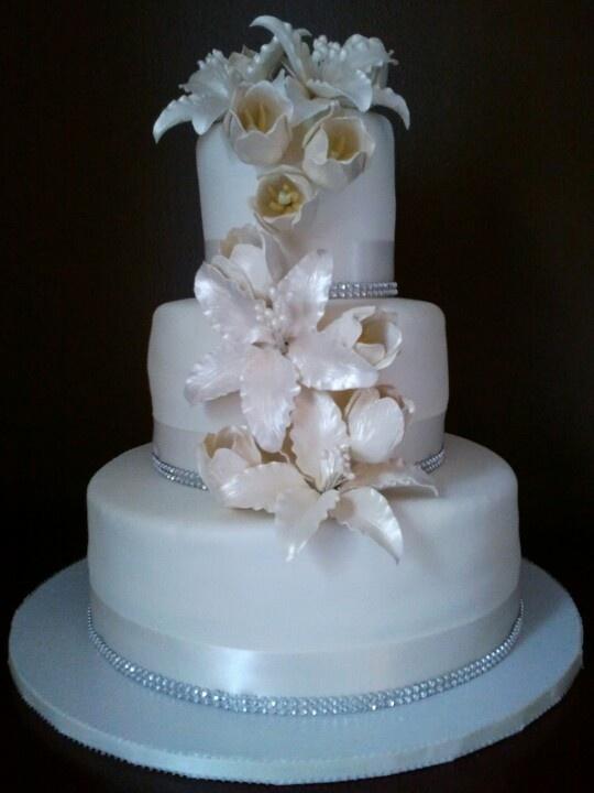 Wedding Cake My Cakes Pinterest