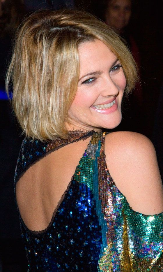 Drew Barrymore bob haircut | Hairstyle | Pinterest