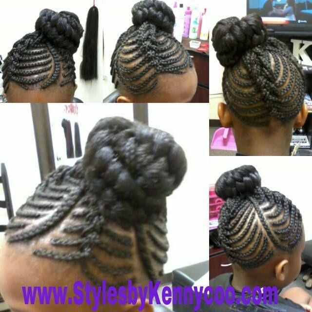 Kids cornrows | Hairstyles | Pinterest
