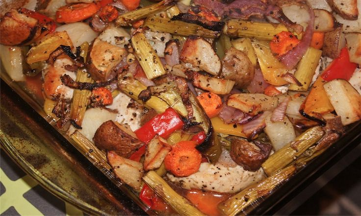Oven Roasted Veggies - 3 Weight Watchers Points Plus