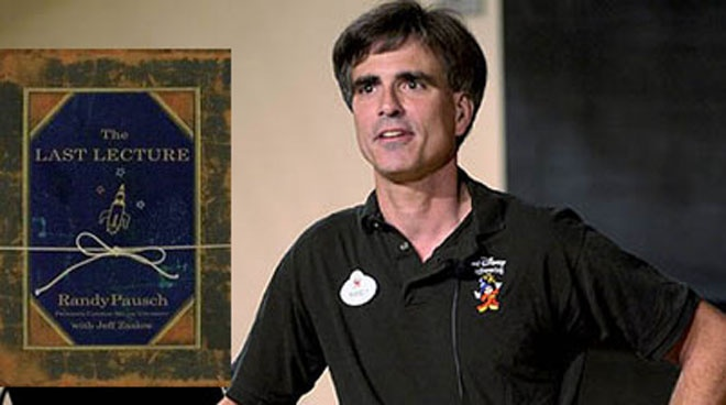 last lecture of randy pausch Essay Examples