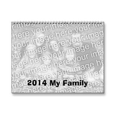 2014 Add Your Own images Calendar