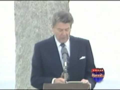 president reagan memorial day speeches