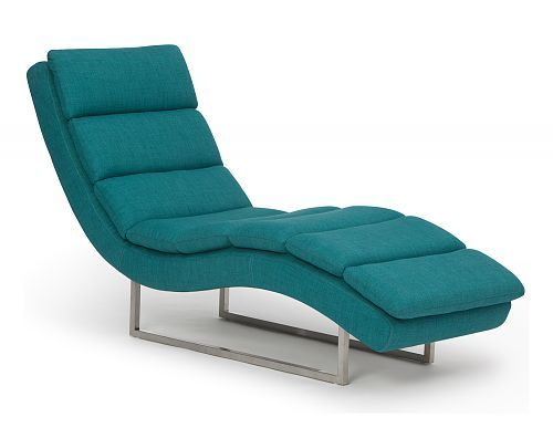 Teal Fiona Lounge chair Decor furniture