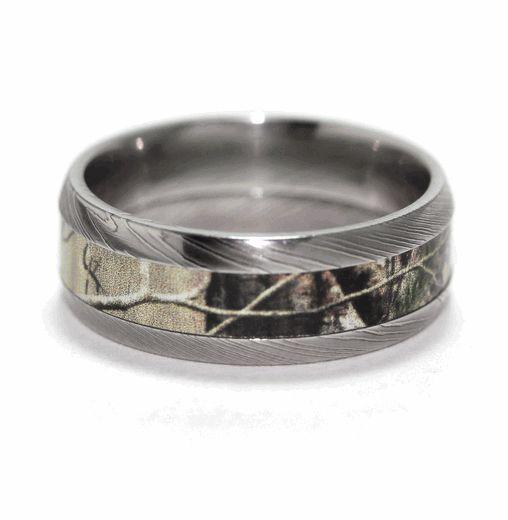 Wetland camo rings for men