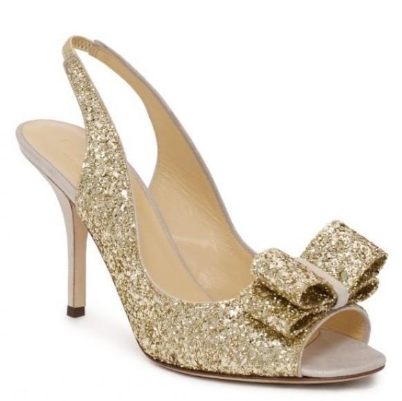 kate spade glitter heels wedding shoes time to plan pinterest