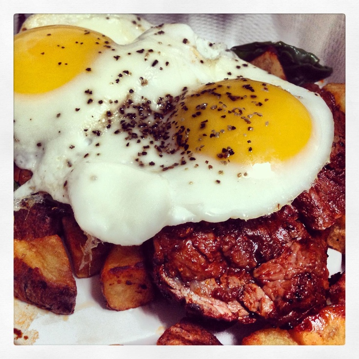 Steak & Egg Hash. | Food | Pinterest