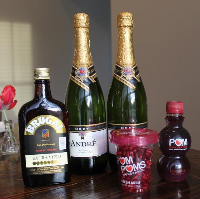 Pomegranate Punch   Cocktails!   Pinterest