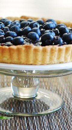 ... delicious blueberry lemon pie! #tarts #tart_crust #tart_recipes #berry
