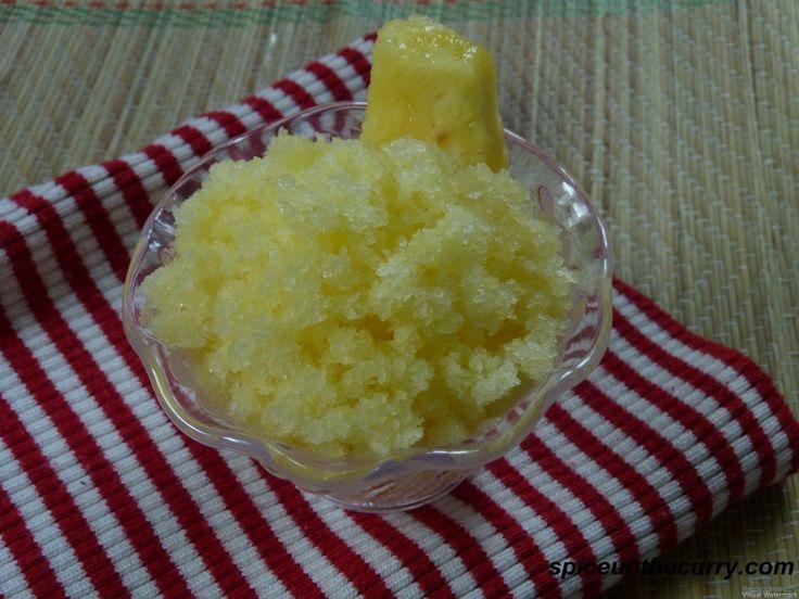 The Perfect Scoop Pineapple Granita | Recipes | Pinterest