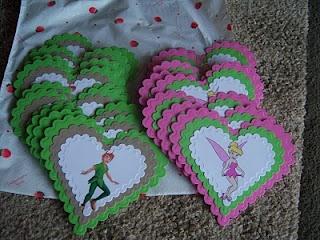 Tinker Crafts: Tinkerbell & Peter Pan!