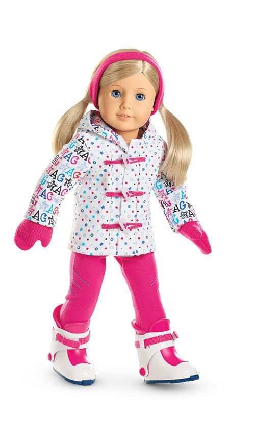 """Hit the Slopes"" Outfit for Dolls"