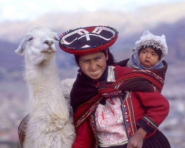 Mother and child | Peruvian Andes