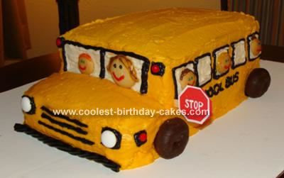 School Bus Cake Design : Pin by Katie Johnson on party party party Pinterest