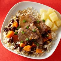 salsa slow cooked jerk pork with caribbean salsa recipe yummly slow ...