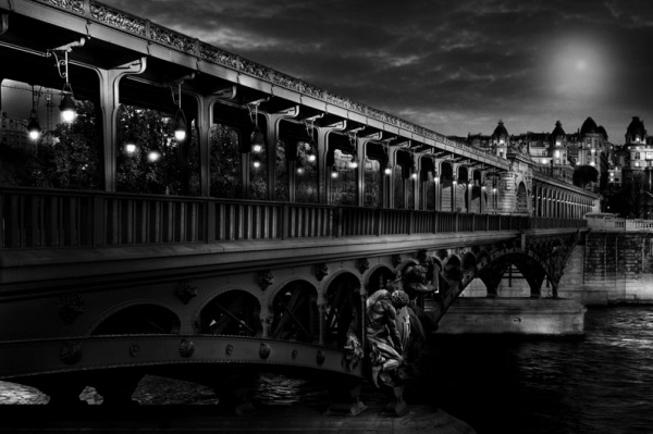 Black and White Cities by Jean-Michel Berts