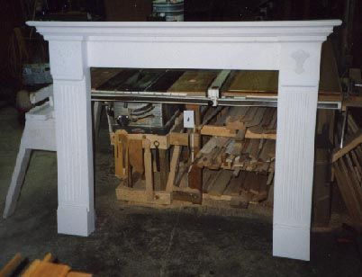 Traditional Painted Fireplace Surround Fireplaces