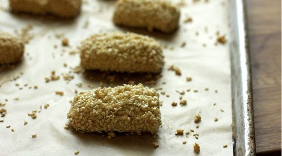 Sesame-Absinthe Cigars Adapted from Caitlin Freeman, The Blue Bottle ...