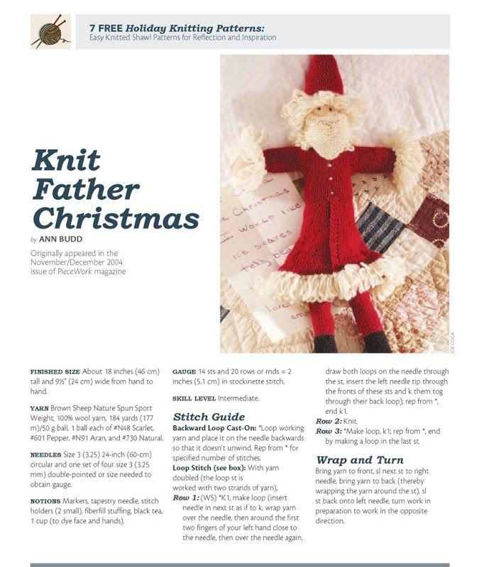 Holiday Knitting Gifts (Knitting Daily) knit & crochet tuto Pinte ...