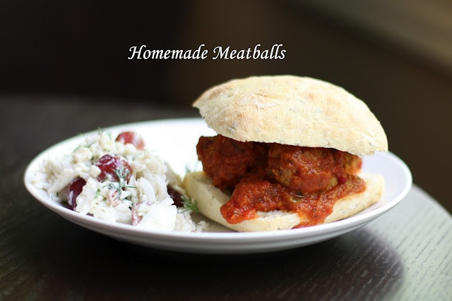 Homemade Meatballs Recipe | Busy Working Mama- This is the exact ...