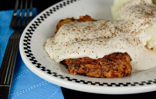 Chicken Fried Steak with Pan Cream Gravy | Meat, Poultry and Fish | P ...