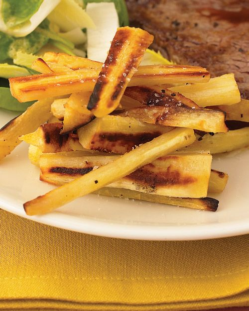Parsnip Fries! I make these ALL the time and they're great. Try ...