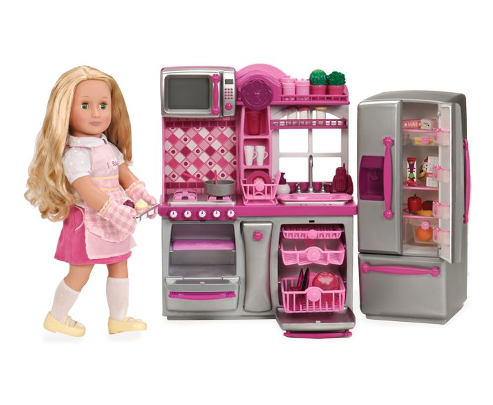 Our Generation Red Gourmet Kitchen Set