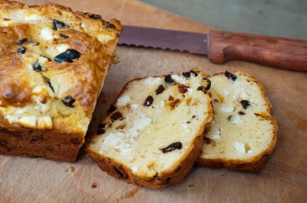 Cheese & Olive Bread | Bread | Pinterest