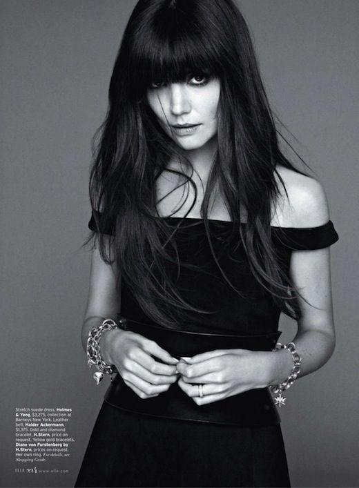 Katie Holmes Wears Holmes & Yang ELLE's August 2012 issue.