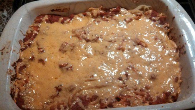 Vegan spaghetti pie | recipes | Pinterest