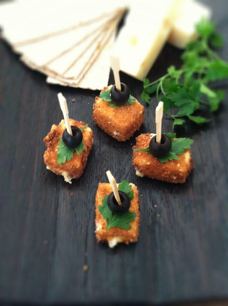 How to make fried cheese! via @bellalimento