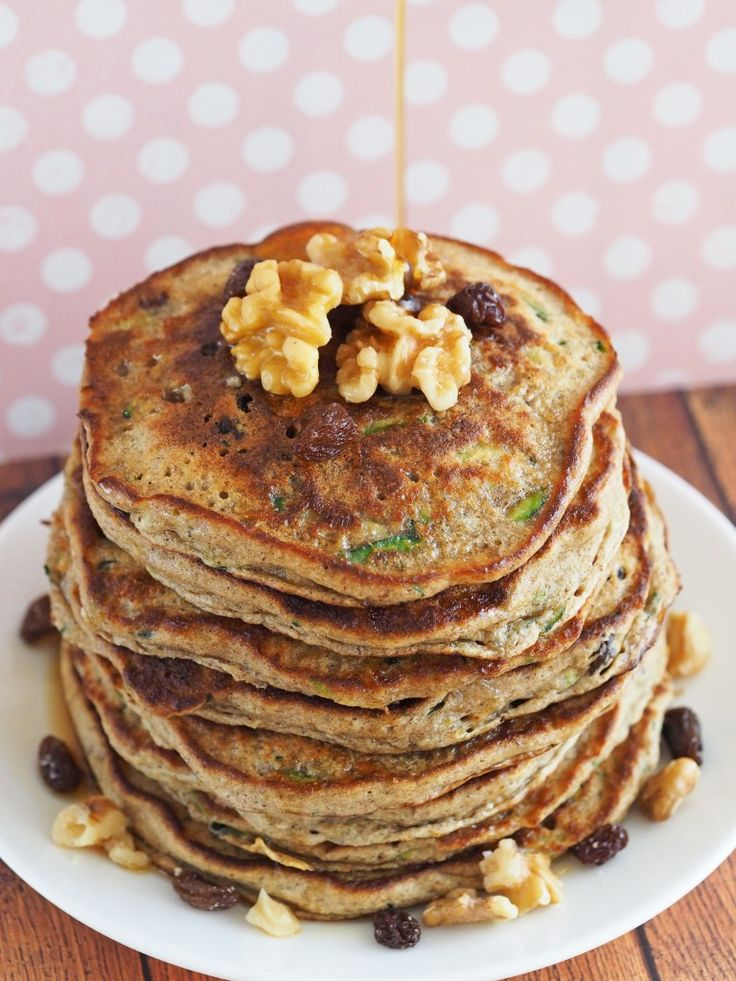 Healthy Zucchini Bread Pancakes | Most important meal of the day | Pi ...
